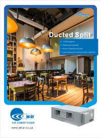 New Ducted Split Inverter R410A